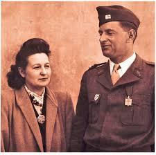 Cecile rol tanguy and her husband henri rol tanguy